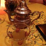 My Moroccan tea. Unbelievable. And enough for two.