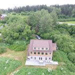 taken by drone. giving an overview of the property