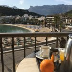 This you see, when you have breakfast on the terrace.