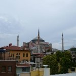 A view from our terrace to Hagia Sophia