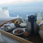 Breakfast with the best view on the Island!