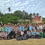 Beach Cleaning at Karon Beach