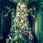 Front parlor tree!
