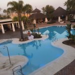 This is the beach pool good music great staff and right on the beach