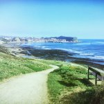 south cliff to cayton bay