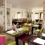 The woodland décor at Table Manors