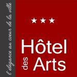 Logo de l'hôtel des arts Toulouse
