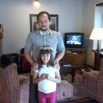 Mi hija Ana Maria con encantador Emilio.