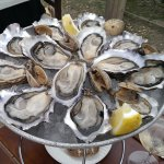 Oysters at Catherine RouxHuitres, the best Oyster Restaurant