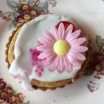 Very cute Bakewell tart