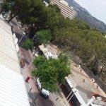Vista de la Avenida desde el balcón