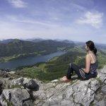 Frauenkopf - sehr schöne Wanderung - mit Blick über den Fuschlsee
