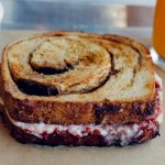 French toast sandwich - brunch