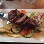 Marinated Pork Loin w/potato salad