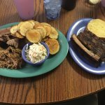 My sampler plate with ribs added on