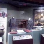 Stonewall Jackson uniform and raincoat.
