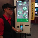 A McDonal'ds Pepsi Road demonstrates how to use the CYT Kiosk