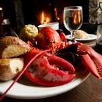 Lobster dinners in the summer feature lobster caught the very same day