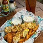 Grilled Shrimp Basket