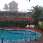 Swimming pool of hotel