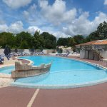 """Le coin """" piscines """" ."""