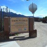 entrée du pueblo
