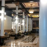Lobby dining - on the left