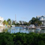 resort is on a beautiful marina with great restaurants in and pubs in the area