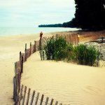 The beach at Wavecrest