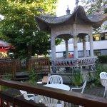 Gastgarten im Restaurant Wang