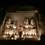 Sound and Light Show - Abu Simbel Foto
