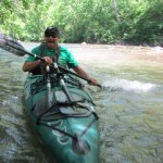 A bit of whitewater fun on the Antietam Creek... with Mr Mike of River & Trail Outfitters