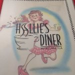 The quaint menu says it all. Great diner!