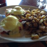 A very good but expensive Benedict breakfast.
