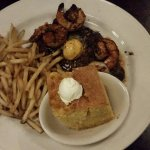 Lucille's Smokehouse BBQ: Steak with Shrimp