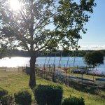 Vue sur le lac, très reposant, cool pour un ptit footing !