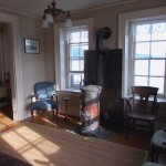 Saugerties Lighthouse downstairs sitting room