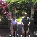 Part of our Jacksonville, OR Segway tour--David was kind enough to take our photo.