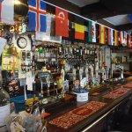 Bar dressed for European football