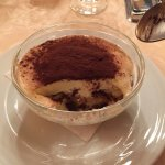 Tiramisu was one of the best I have tasted, steak cooked perfectly and grilled shrimps were sens
