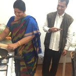 A great time with our Visitors from Hyderabad cooking up a storm in the communal kitchen.
