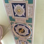 Fine 18th century plaster work on a ceiling