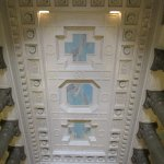 Ceiling of the central hall