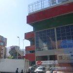 Una vista parcial del estadio Hernando Siles, muy cerca del hotel