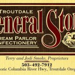 Troutdale General Store Business Card