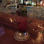 Fantastic Blueberry Mojito at the Cottage Street Pub!!!