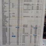 lista de precios parques en el hotel