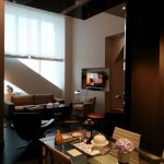 Diplomat Suite living room