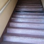 The scary stairs. The picture doesn't capture how bad they are. Seriously needs updating.