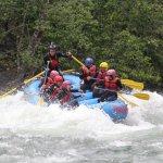 Unsere Gruppe aufgenommen von Fraser River Rafting